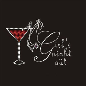 Girls Night Out Iron on Transfer (CG)