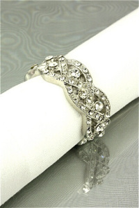 Plait napkin ring (H)